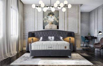 מיטה עם ארגז מצעים הורייזון