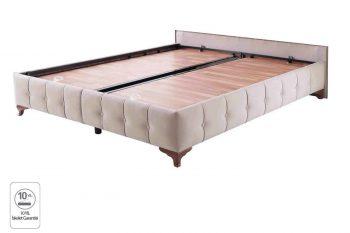 בסיס מיטה זוגית - וולווט
