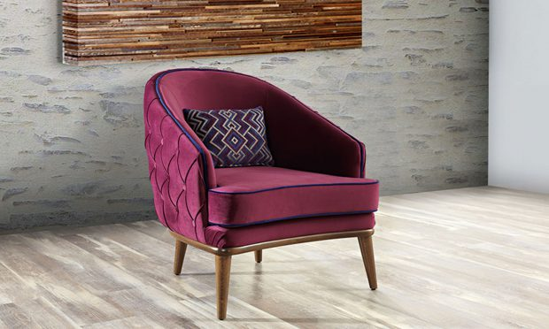 כורסא מעוצבת דגם מנוליה