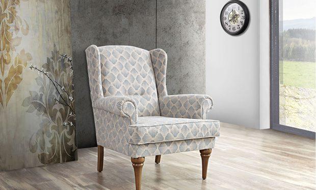 כורסא מעוצבת ומהודרת מימוזה