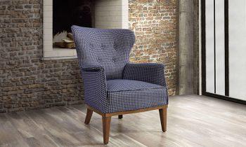כורסא מעוצבת של פולרם - ורדה