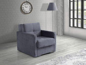 כורסא נפתחת למיטה עם ארגז אחסון