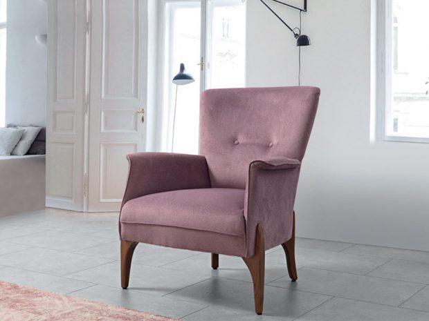 כורסא מרופדת ומעוצבת מודרנו - פולרם