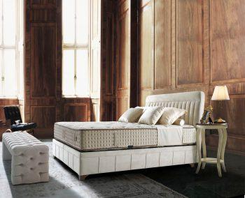 מיטה מעוצבת עם ארגז - פולרם