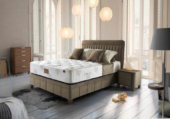 מיטה מודרנית עם ארגז אחסון