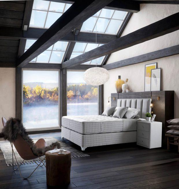 מיטה זוגית עם ארגז מצעים דגם מאיה פולו