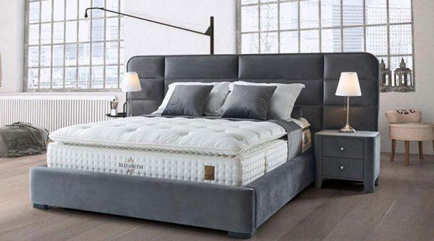 מיטות מרופדות עם ארגז