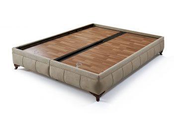 בסיס מיטה זוגית עם ארגז מצעים דידים