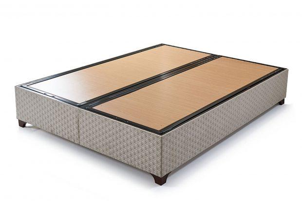 בסיס למיטה זוגית עם ארגז מצעים דגם קוזה