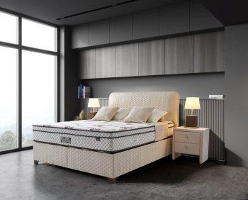 מיטה עם ארגז מצעים קוזה
