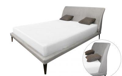 מיטה מרופדת עם ארגז מצעים דגם קולומביה